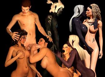 Potwory XXX w seks animacjach