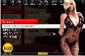 Prostytutka w koronkowej bieliznie