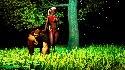 Waleczny wojownik elfow szuka uleglych chlopcow